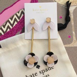 Kate Spade 'Pick a Posy' drop earrings NWT